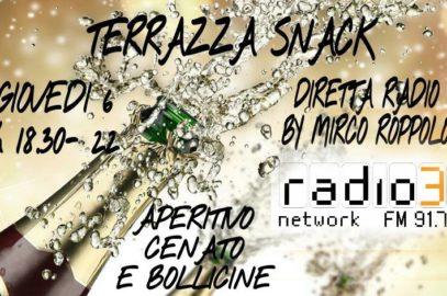Arriva Terrazza Snack, talk-show in diretta dallo Snack Bar 1961 di Siena