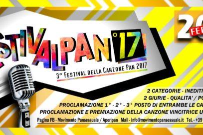Festivalpan 2017 – Via alle iscrizioni