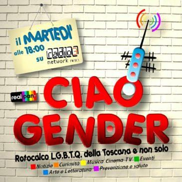 Dal 9 Maggio arriva Ciao Gender, notizie e informazioni dal mondo LGBTQ di Siena e provincia
