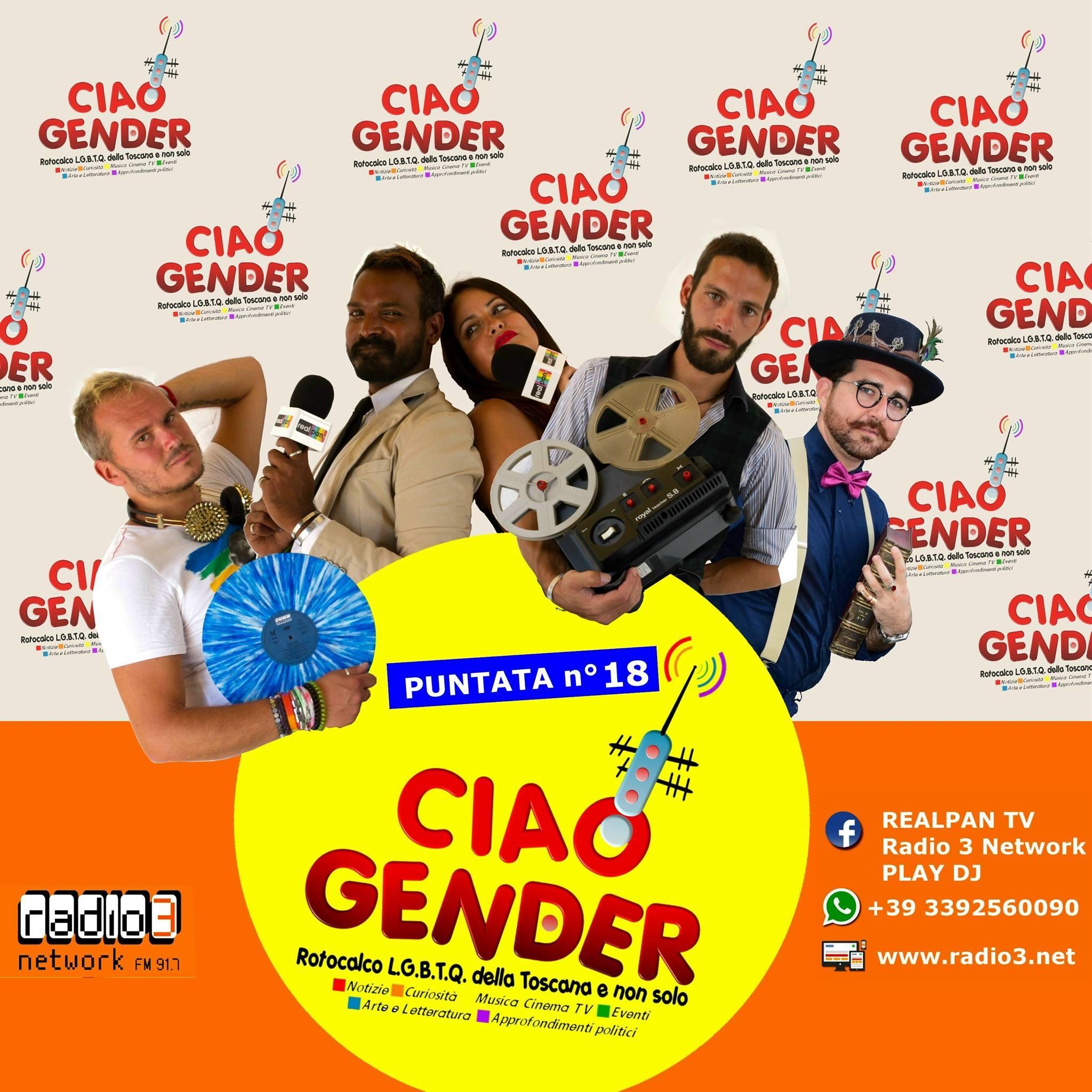Ciao Gender – Stagione 1 – Puntata 18