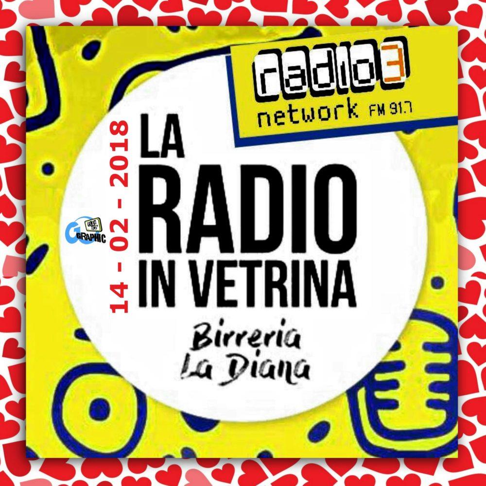 La Radio In Vetrina – Puntata 08 – 14 Febbraio 2018