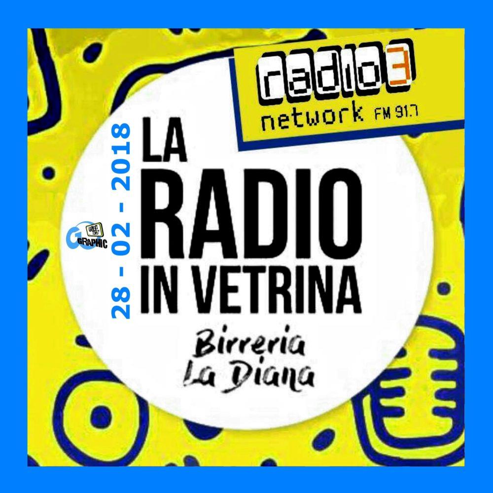 La Radio In Vetrina – Puntata 10 – 28 Febbraio 2018