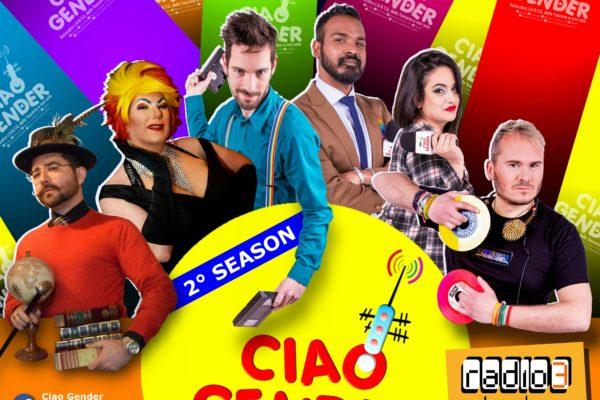 Martedì 10 Aprile torna Ciao Gender con la nuova stagione.