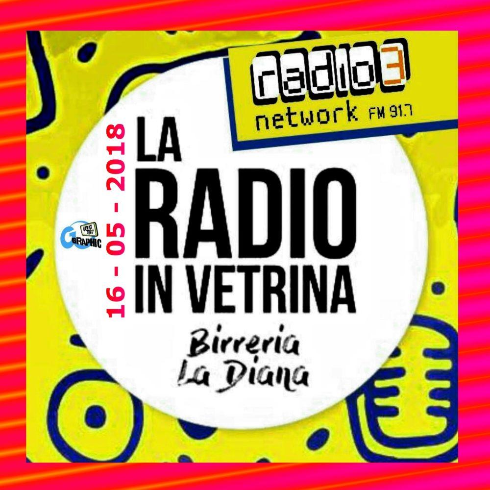 La Radio In Vetrina – Puntata 19 – 16 Maggio 2018