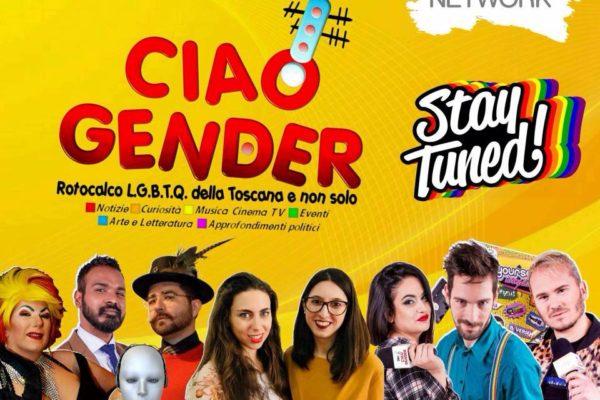 Martedì 2 Ottobre 2018 ritorna Ciao Gender