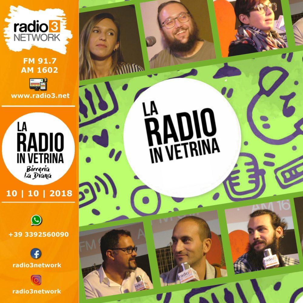 La Radio In Vetrina – Stagione 2 – Puntata 2 – 10 Ottobre 2018