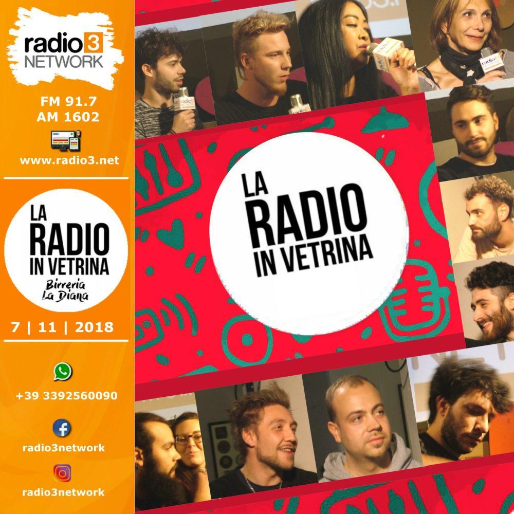 La Radio In Vetrina – Stagione 2 – Puntata 4 – 7 Novembre 2018