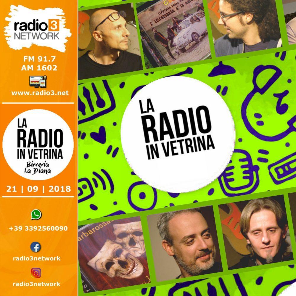 La Radio In Vetrina – Stagione 2 – Puntata 5 – 21 Novembre 2018