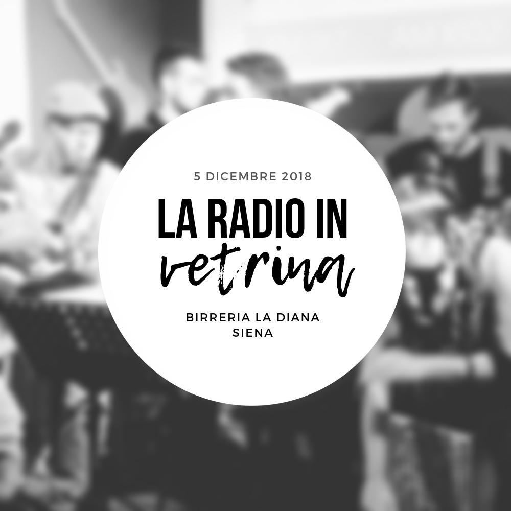 La Radio In Vetrina – Stagione 2 – Puntata 7 – 5 Dicembre 2018