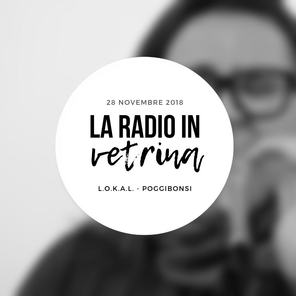 La Radio In Vetrina – Stagione 2 – Puntata 6 – 28 Novembre 2018