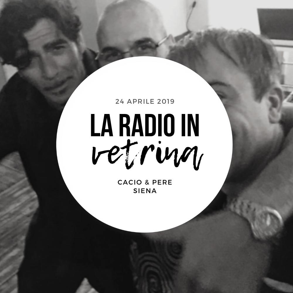 La Radio In Vetrina – Stagione 2 – Puntata 11 – 24 Aprile 2019