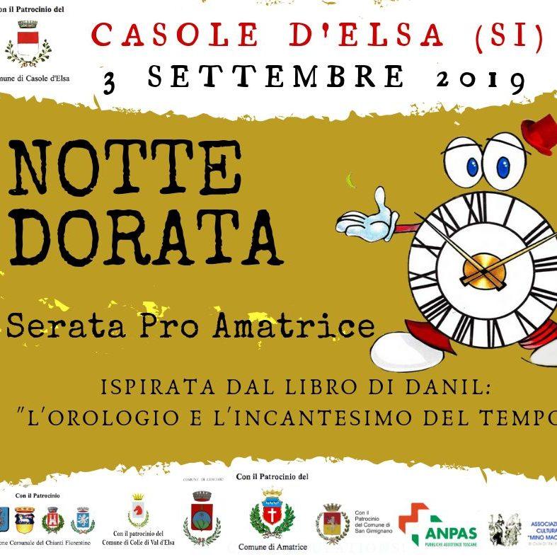 Speciale Notte Dorata Serata Pro Amatrice 3 Settembre 2019