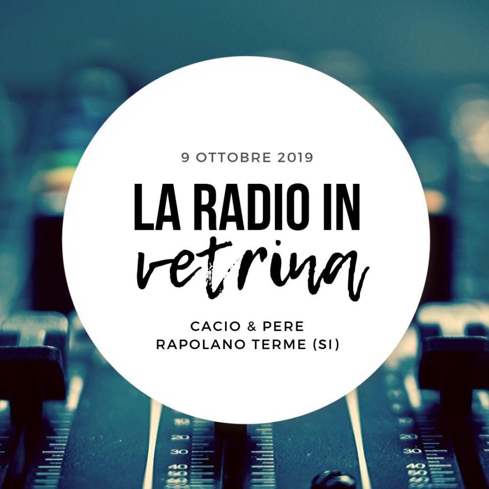 La Radio In Vetrina – Stagione 3 – Puntata 1 – 9 Ottobre 2019