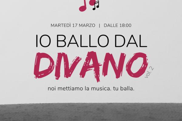 Io Ballo Dal Divano – Puntata 2 – 17 Marzo 2020