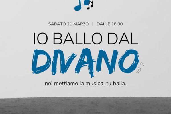 Io Ballo Dal Divano – Puntata 3 – 21 Marzo 2020