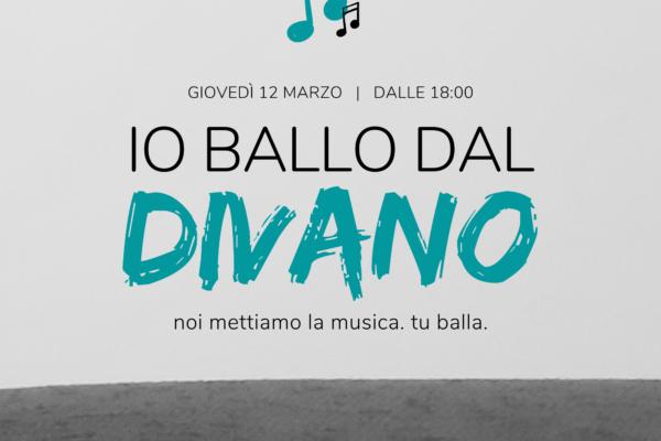 Io Ballo Dal Divano – Puntata 1 – 12 Marzo 2020